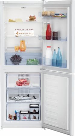 Beko White 153cm Tall Frost Free Fridge Freezer