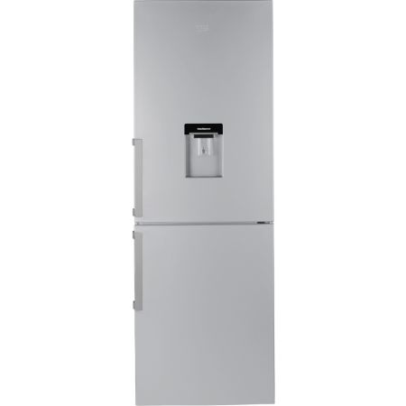 Beko Silver Frost Free Fridge Freezer With Drinks Dispenser