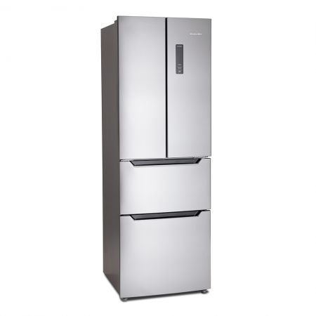 Montpellier Stainless Steel French Door Frost Free Fridge Freezer