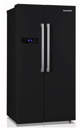Montpellier Black Side By Side With Drinks Dispenser