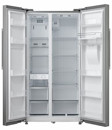 Montpellier Inox Side By Side With Drinks Dispenser