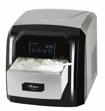 Crosslee Table Top Ice Maker With Lcd Display And Touch Control