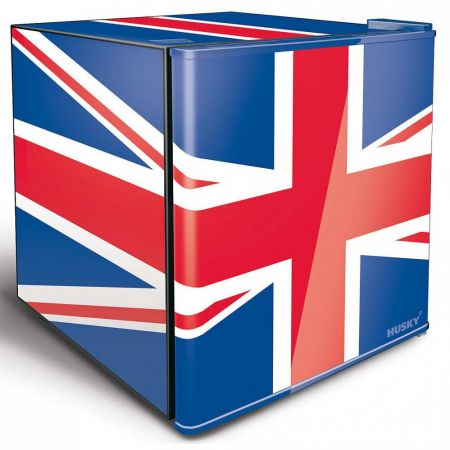 Husky Union Jack 48L Mini Fridge