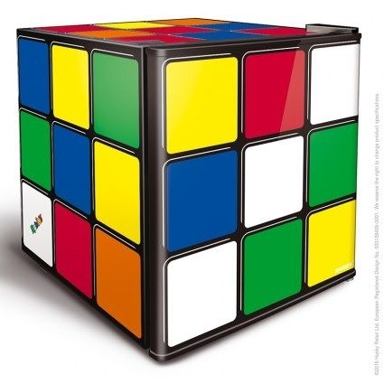 Husky Rubiks Cube Table Top Drinks Fridge