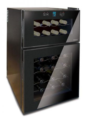 Husky Dual Zone Reflections Wine Chiller