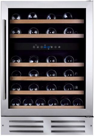 Montpellier 46 Bottle Dual Zone Wine Chiller