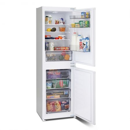 Montpellier Frost Frost Free 50/50 Split Integrated Fridge Freezer