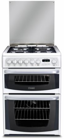 Cannon By Hotpoint 60cm Dual Fuel Cooker With Double Oven