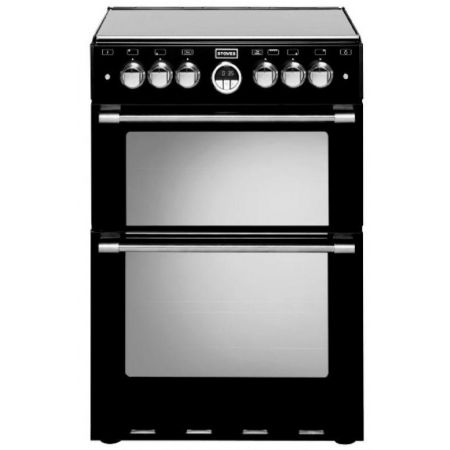 Stoves Sterling Black Gas Mini Range Cooker With Double Oven