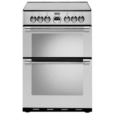 Stoves Sterling Stainless Steel Gas Mini Range Cooker With Double Oven