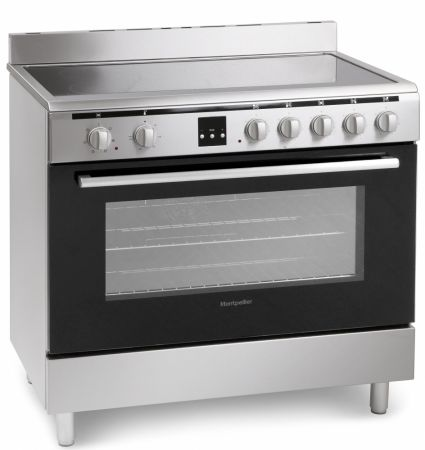 Montpellier Essential Collection Single Cavity 90cm Range Cooker With Ceramic Hob
