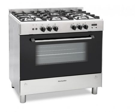 Montpellier Stainless Steel Single Cavity Gas Range Cooker