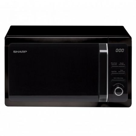 Sharp Black 20L Microwave With Grill