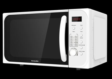 Montpellier White 21Ltr Combination Microwave