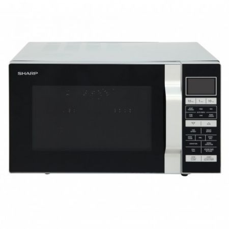 Sharp Silver 25L Combination Flat Bed Microwave