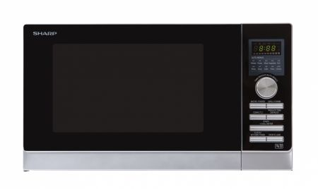 Sharp Silver 25L Combination Microwave
