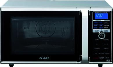 Sharp Silver Family Combination Microwave