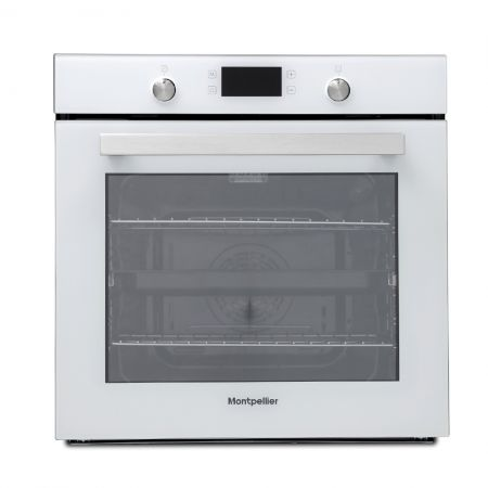 Montpellier Single Oven With White Glass Door