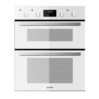 Indesit White Built Under Double Electric Oven