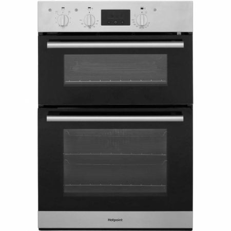 Hotpoint Stainless Steel Built In Double Fan Oven