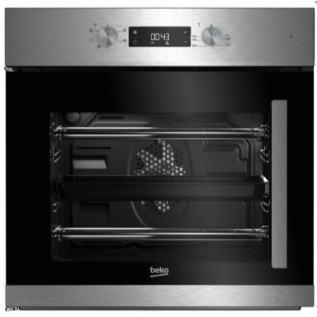 Beko Integrated Stainless Steel Single Multifunction Oven Right Hinge