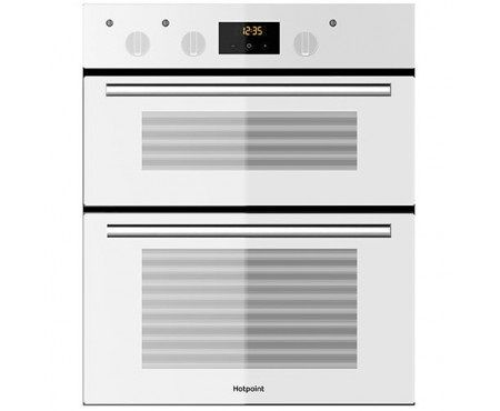 Hotpoint White Built Under Double Fan Oven