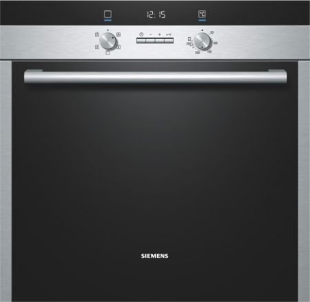 Siemens Iq300 Stainless Steel Built In Single 3D Hot Air Oven
