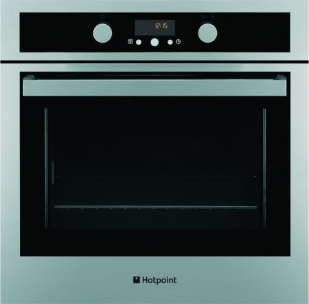 Hotpoint Experience Fingerprint Resistant Stainless Steel Multifunction Single Oven With Pyrolytic Cleaning