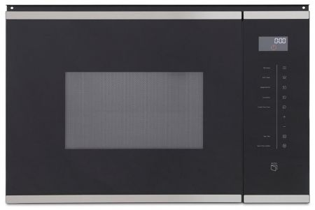 Montpellier Black Built In Microwave With Grill