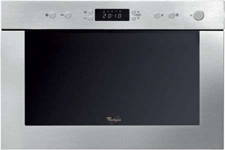 Whirlpool Built In Stainless Steel Microwave And Grill