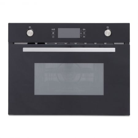 Montpellier Black Built In Combination Microwave