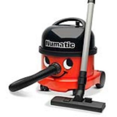 Numatic Red Cylinder Vacuum Cleaner