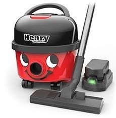Henry Cordless Vacuum With 1 Battery
