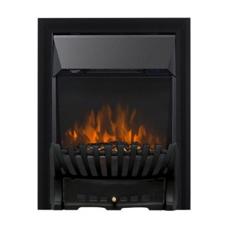Focal Point Elegance Black Led Freestanding Or Inset Electric Fire