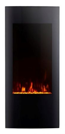 Focal Point Ebony Grand Led Black Wall Mounted Electric Fire