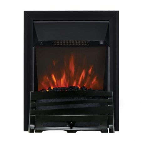 Focal Point Horizon Black Led Freestanding Or Inset Electric Fire