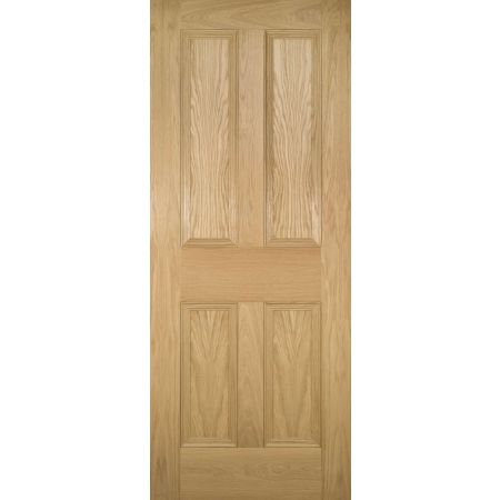 Kingston Unfinished Oak FD30 Doors