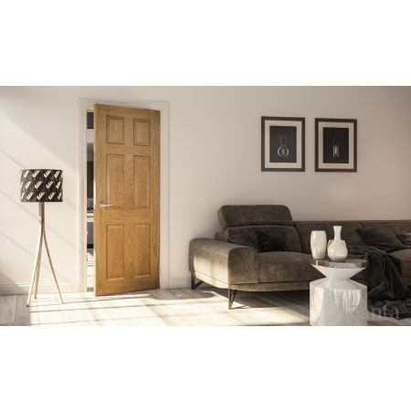 Oxford Prefinished Oak FSC Doors