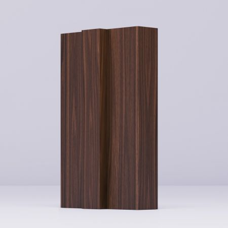 Frame Walnut Removable Stop - 133*30