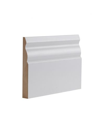 White Primed Ulysses Skirting - One Size