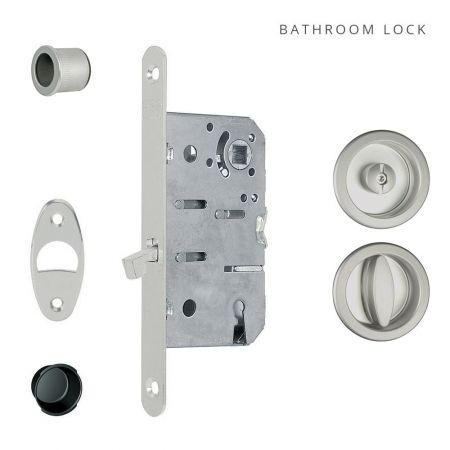 Pocket Door Round Bathroom Lock
