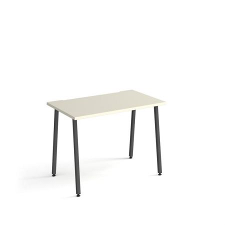 Spectun Straight Office Desk 1000mm X 600mm With A-Frame Legs