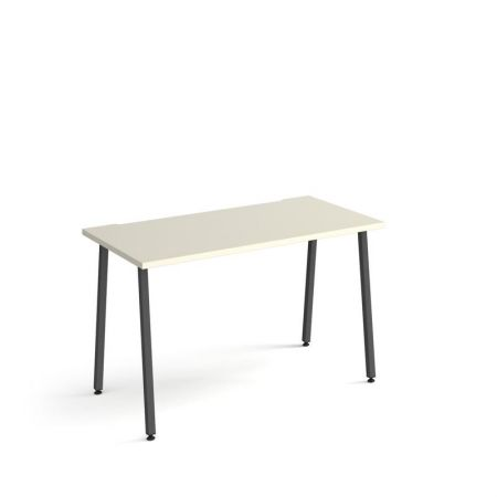 Spectun Straight Office Desk 1200mm X 600mm With A-Frame Legs