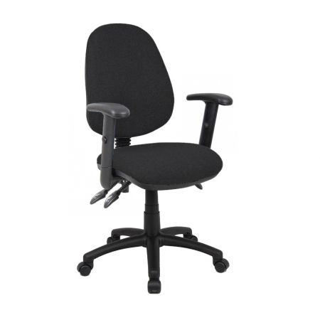 Vardy 200 3 Lever Asynchro Operators Chair With Adjustable Arms