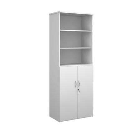 Universal Combination Unit With Open Top 2140mm High With 5 Shelves