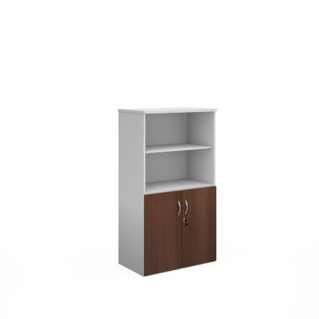 Duo Combination Unit With Open Top 1440mm High With 3 Shelves