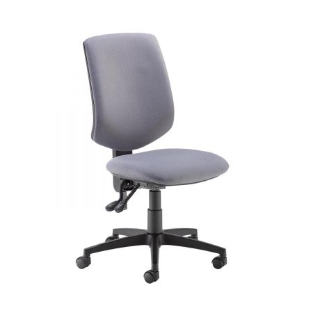 Tegan Fabric Pcb Operator Chair With No Arms - Made To Order