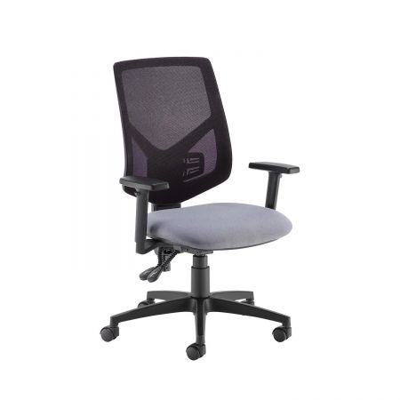 Tegan Mesh Back Pcb Operator Chair With 2D Arms - Made To Order