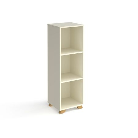 Giset Cube Storage Unit 1370mm High With 3 Open Boxes And Wooden Legs