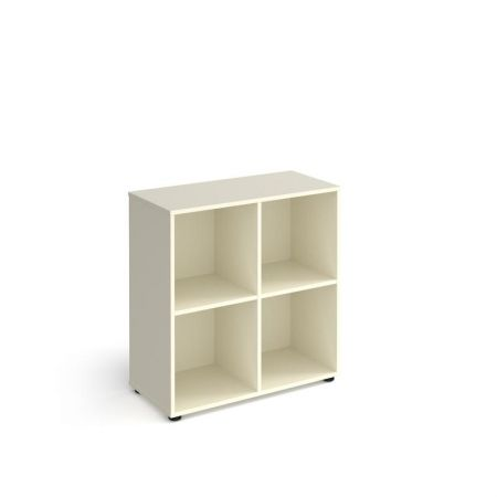 Universal Cube Storage Unit 950mm High With 4 Open Boxes And Glides